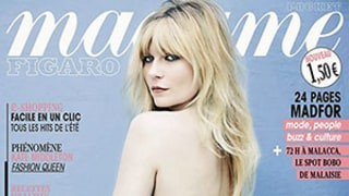 Kirsten Dunst Poses Topless For Madame Figaro Magazine Cover in Low-Rise Jeans: Picture