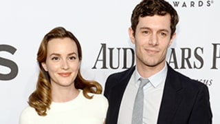 Leighton Meester, Adam Brody Walk First Red Carpet Post-Wedding at Tony Awards: Picture