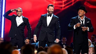 Hugh Jackman Raps The Music Man With LL Cool J and T.I. at the Tonys: Watch Now!