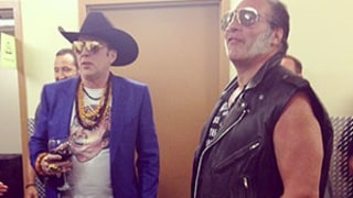 Nicolas Cage Wears Nicolas Cage T-Shirt at Guns N' Roses Concert: Picture