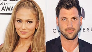 Jennifer Lopez and Dancing With The Stars Pro Maksim Chmerkovskiy Are