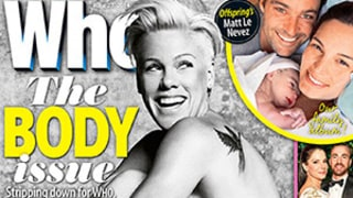 Pink Goes Naked For Who Magazine, Says She's In