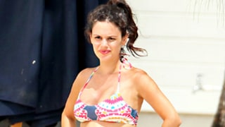 Rachel Bilson Bares Growing Baby Bump in Bikini, Kisses Hayden Christensen: Pictures