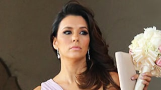 Eva Longoria Serves as Bridesmaid in Friend's Wedding, Takes Boyfriend Jose Antonio Baston as Date: Picture