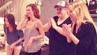 Pitch Perfect 2 Rehearsal Photo: Anna Kendrick, Hailee Steinfeld, Brittany Snow, Rebel Wilson Get Down