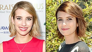Emma Roberts Dyes Hair Brown: See Her New Brunette Bob!