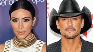 Kim Kardashian Poses in Wet T-Shirt; Tim McGraw Reveals Eight-Pack Abs: Top 5 Thursday Stories