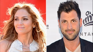 Jennifer Lopez Enjoys Flirty Night Out With Maksim Chmerkovskiy After Shooting Down Dating Rumors