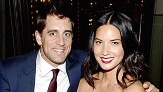 Olivia Munn Beams With Boyfriend Aaron Rodgers at Deliver Us From Evil Screening in NYC: Date Night Photos