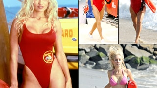 Celebrities Mimic Pamela Anderson's Famous Baywatch Swimsuit