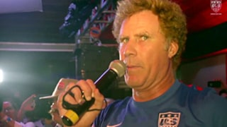 Will Ferrell Supports Team USA With Hilarious World Cup Pep Rally Speech in Brazil, Threatens to Bite German Players
