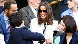 Pippa Middleton, Brother James Hang With Michelle Dockery, Boyfriend John Dineen at Wimbledon: Cute Pictures