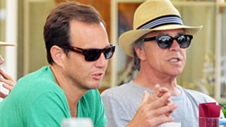 Will Arnett, Don Johnson Go for a Boat Ride, Dine al Fresco on Group Vacation in Italy: Pictures