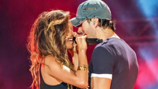 Nicole Scherzinger, Enrique Iglesias Get Steamy in Live Performance: Pictures