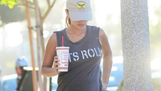 Rachel Bilson Grabs Burgers With Hayden Christensen in