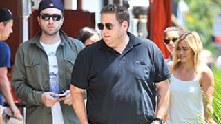 Hilary Duff Fails To Catch Jonah Hill's Attention While Out In Beverly Hills: Pictures