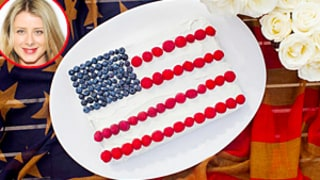 Lo Bosworth Shares Healthy(ish) July 4th Flag Cake Recipe