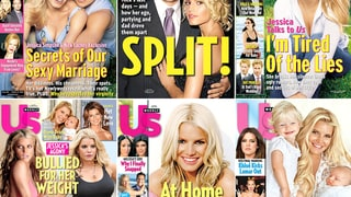 Jessica Simpson's Us Weekly Covers