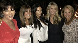 Kim Kardashian, Katie Couric Pose Together in Hamptons After Feud: Picture