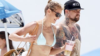 Cameron Diaz Wears Bikini As She and Benji Madden Visit Her Family in Florida: Sexy Beach Picture
