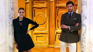 Olivia Palermo and Husband Johannes Huebl Hit Paris Couture Fashion Week Together