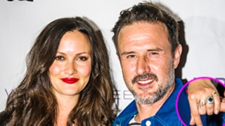 David Arquette Had to Propose Twice to Fiancee Christina McLarty