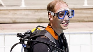 Prince William Wears Wetsuit, Talks Prince George's