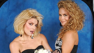 CaCee Cobb Wishes Jessica Simpson Happy Birthday With Hilarious '80s-Inspired Throwback Picture