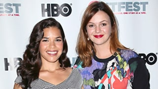 America Ferrera, Amber Tamblyn Go on Double Dates