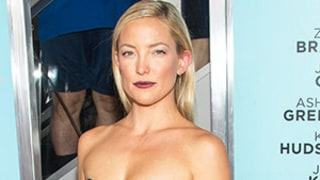 Kate Hudson Wears Sexy Black Strapless Cutout Dress for Wish I Was Here Premiere: Photo