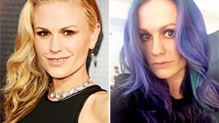 Anna Paquin Dyes Her Hair Purple, Blue Fulfills Dream of