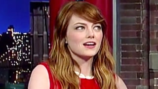 Emma Stone Says Dead Grandfather Haunts Her, Leaves Her Quarters: David Letterman Interview