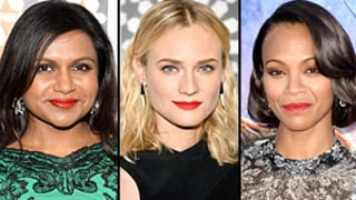 Mindy Kaling, Diane Kruger, Zoe Saldana Wear Red Lips This Summer: How to Pull Off the Trend