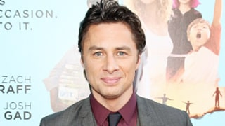 Zach Braff Records Sweet Video for Biggest Fan: Watch Now