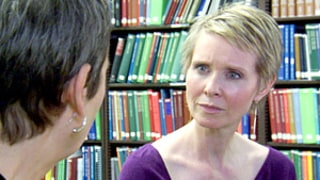 Cynthia Nixon Learns Her Ancestor Was an Axe Murderer on TLC's Who Do You Think You Are?