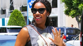 Kelly Rowland Bares Her Baby Bump in Cutout Top on Lunch Date: Picture