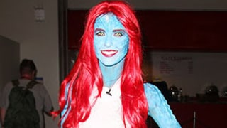 Audrina Patridge Paints Body Blue as X-Men's Mystique For Comic-Con: Pictures
