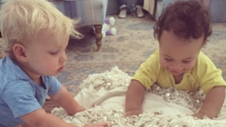 Jessica Simpson's Son Ace Plays With CaCee Cobb's Son Rocco: Sweet Picture
