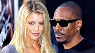 Eddie Murphy Shows Off Hot Girlfriend at 'Hercules' Premiere