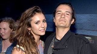 Nina Dobrev, Orlando Bloom Get Flirty on the Dance Floor at Star-Studded Comic-Con Party