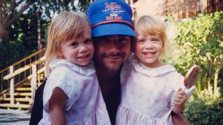 John Stamos with the Olsens