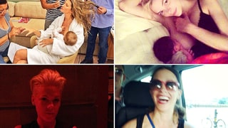 Celeb Moms Share Breastfeeding Pictures