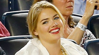 Justin Verlander Tosses Kate Upton Baseball During Game: Adorable GIF