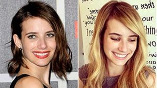Emma Roberts Goes Back to Blonde Hair: I