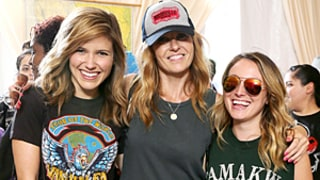 Sophia Bush and Connie Britton Have a Battle of Short Shorts at Lollapalooza: See Their Incredible Legs