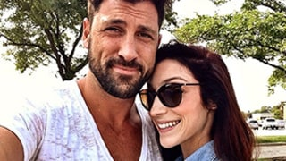 Maksim Chmerkovskiy and Meryl Davis Reunite For Breakfast: Sweet Picture