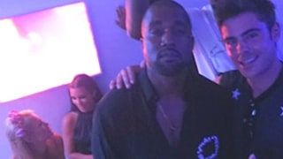 Kim Kardashian and Kanye West Party With Paris Hilton, Zac Efron, Diddy in Ibiza: See the Picture