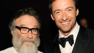 Hugh Jackman Remembers Robin Williams with Throwback Thursday Photo,