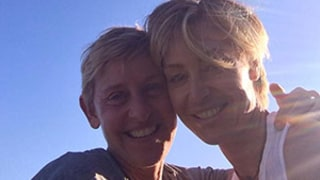 Portia de Rossi Surprised Ellen DeGeneres With a Message In the Sky For Their Sixth Wedding Anniversary -- See the Pic!