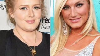 Adele Adkins and Brooke Hogan